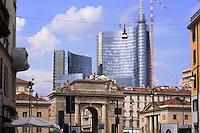 - Milan, new buildings in the Porta Nuova - Porta Garibaldi area<br /> <br /> - Milano, nuovi palazzi nell'area  Porta Nuova - Porta Garibaldi