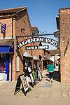 Hughenden Yard shopping centre, Marlborough, Wiltshire, England, UK