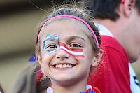 OTTAWA, CANADA, 26.06.2015 - CHINA-EUA - Torcedores dos Estados Unidos durante partida contra a China, válido pelas quartas-de-finais da Copa do Mundo de Futebol Feminino no Estádio Lansdowne em Ottawa no Canada nesta sexta-feira, 26. (Foto: William Volcov/Brazil Photo Press)