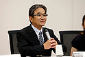 Ryohei Miyata,<br /> SEPTEMBER 18, 2015 :<br /> The 1st Preparatory Committee towards the Tokyo 2020 Olympic and Paralympic Games emblem selection is held in Tokyo, Japan. (Photo by Shugo TAKEMI/Tokyo2020/AFLO)