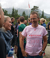 Race number 208 - Jan Wilhelm Werner  - Norseman 2012 - Photo by Justin Mckie Justinmckie@hotmail.com