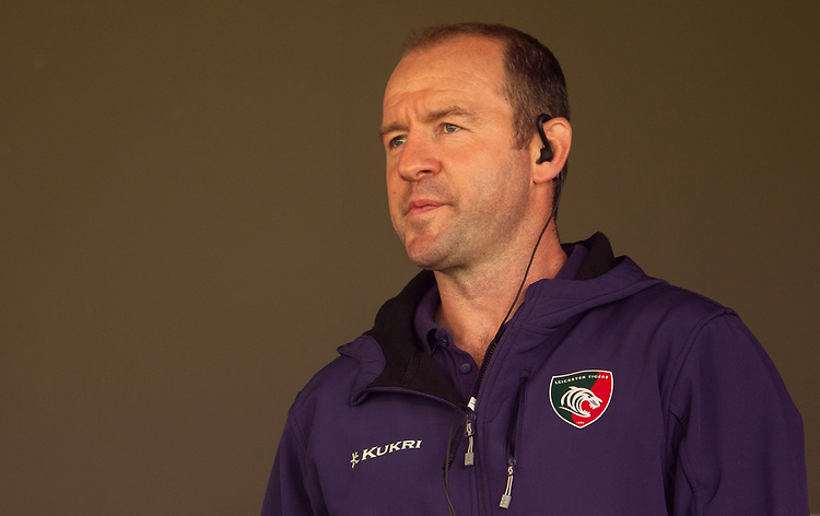 Leicester Tigers' Head Coach Geordan Murphy<br /> <br /> Photographer Bob Bradford/CameraSport<br /> <br /> Premiership Rugby Cup Round Three - Bath Rugby v Leicester Tigers - Saturday 5th October 2019 - The Recreation Ground - Bath<br /> <br /> World Copyright © 2018 CameraSport. All rights reserved. 43 Linden Ave. Countesthorpe. Leicester. England. LE8 5PG - Tel: +44 (0) 116 277 4147 - admin@camerasport.com - www.camerasport.com