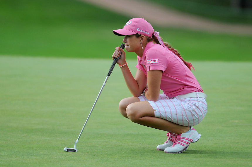 10 JULY 2011:   Paula Creamer, of Pleasonton, California, USA, during the final round of the LPGA U.S. Women's Open at the Broadmoor in Colorado Springs, Colorado.   *****For Editorial Use Only*****