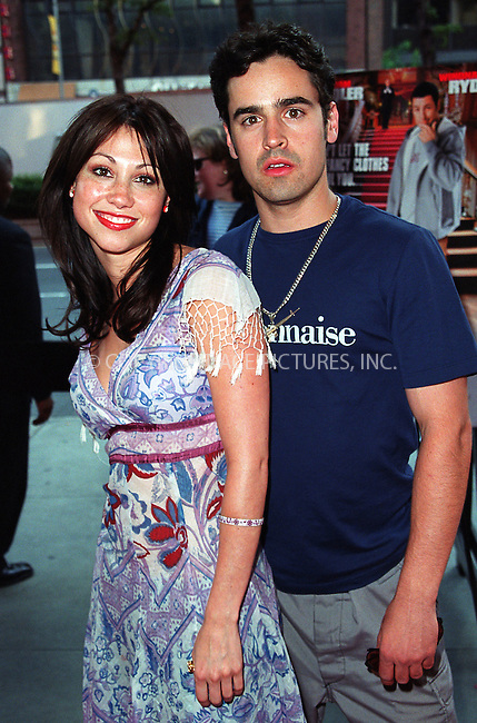 Jesse Bradford and girlfriend arrive at the world premiere of Mr. Deeds in New York. June 18, 2002. Please byline: Alecsey Boldeskul/NY Photo Press.   ..*PAY-PER-USE*      ....NY Photo Press:  ..phone (646) 267-6913;   ..e-mail: info@nyphotopress.com