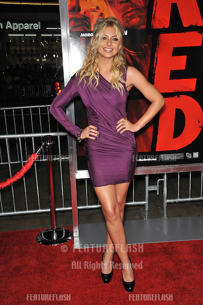 "Aly Michalka at the premiere of ""Red"" at Grauman's Chinese Theatre, Hollywood..October 11, 2010  Los Angeles, CA.Picture: Paul Smith / Featureflash"