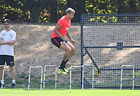 Marco Russ (Eintracht Frankfurt) - 21.08.2018: Eintracht Frankfurt Training, Commerzbank Arena, DISCLAIMER: <br /> DFL regulations prohibit any use of photographs as image sequences and/or quasi-video.
