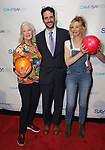 Jane Alexander, Noah Cornman and Maddie Corman during the 8th Annual Paul Rudd All-Star Benefit for SAY at Lucky Strike Lanes  on November 11, 2019 in New York City.