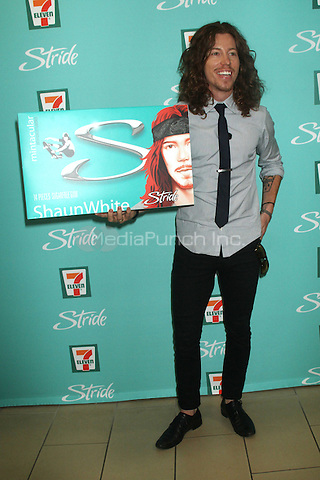 NEW YORK, NY - AUGUST 21: Shaun White at the release of Stride's new flavor, 'Mintacular' at 7-Eleven in New York City. August 21, 2012. ©RW/MediaPunch Inc.