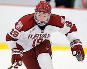 Jimmy Vesey (Harvard - 19) - The Yale University Bulldogs defeated the Harvard University Crimson 5-1 on Saturday, November 3, 2012, at Bright Hockey Center in Boston, Massachusetts.