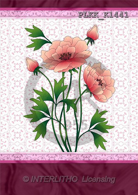 Kris, FLOWERS, paintings, PLKKK1441,#f# Blumen, flores, illustrations, pinturas ,everyday