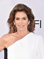 HOLLYWOOD, CA - JUNE 07: Cindy Crawford  arrives at the American Film Institute's 46th Life Achievement Award Gala Tribute To George Clooney at the Dolby Theatre on June 7, 2018 in Hollywood, California.<br /> CAP/ROT/TM<br /> &copy;TM/ROT/Capital Pictures