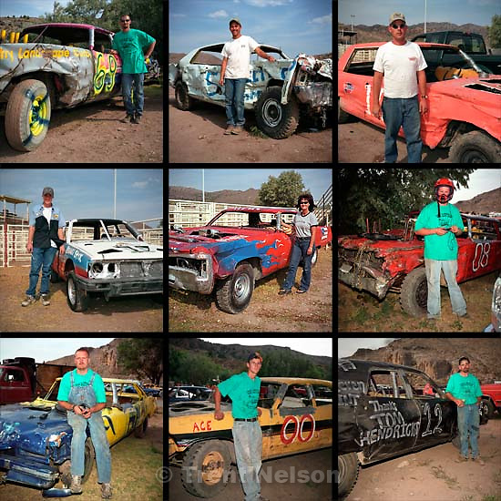 Beaver county Fair Demolition Derby Drivers<br />