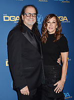 HOLLYWOOD, CA - FEBRUARY 02: Glenn Weiss (L) and Jan Svendsen attend the 71st Annual Directors Guild Of America Awards at The Ray Dolby Ballroom at Hollywood & Highland Center on February 02, 2019 in Hollywood, California.<br /> CAP/ROT/TM<br /> ©TM/ROT/Capital Pictures