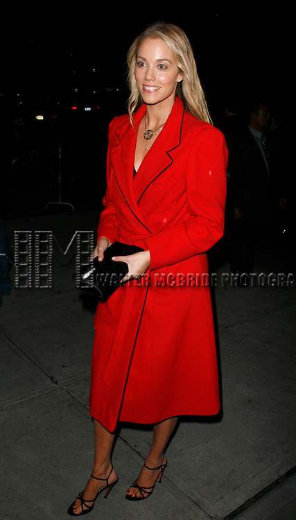 Elizabeth Berkley attending the Opening Night Performance of the Roundabout Theatre Company's Broadway Production of SUDDENLY LAST SUMMER at the Laura Pels Theatre in New York City. November 15, 2006 © Walter McBride /