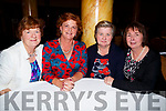 Having a great night at the Bon Secour Tralee SYNC'IT for Sudan in Brandon Hotel,Tralee on Saturday night, Marie Noonan,Helen Cronin,Siobhan Lynch and Eileen O'Connor.