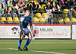 FK Trakai v St Johnstone…06.07.17… Europa League 1st Qualifying Round 2nd Leg, Vilnius, Lithuania.<br />Joe Shaughnessy reacts after his header goes wide of the post<br />Picture by Graeme Hart.<br />Copyright Perthshire Picture Agency<br />Tel: 01738 623350  Mobile: 07990 594431