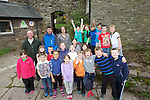 Pupils from St James Church of England Primary school in Hereford..Danywenallt Outdoor Centre .Talybont-On-Usk.30.04.12.©Steve Pope