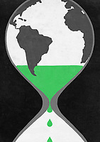 Time running out for the world inside of hourglass ExclusiveImage
