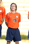 09 September 2011: Virginia's Ari Dimas. The University of Virginia Cavaliers defeated the Duke University Blue Devils 1-0 at Koskinen Stadium in Durham, North Carolina in an NCAA Division I Men's Soccer game.