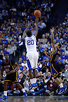Doron Lamb shot for a 3 against Coppin State on Tuesday, December 28, 2010 at Rupp Arena. Photo by Latara Appleby | Staff