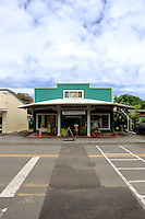 Shop in main street of Honoka'a, Big Island, Hawaii