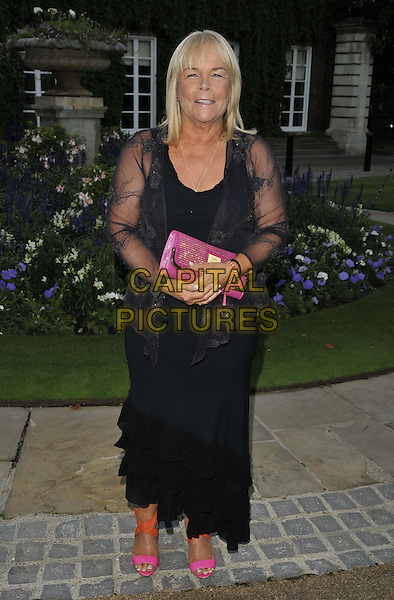 LONDON, ENGLAND - AUGUST 28: Linda Robson attends the Mo Farah Foundation &quot;A Night Of Champions&quot; Dinner, The Hurlingham Club, Ranelagh Gardens, on Thursday August 28, 2014 in London, England, UK. <br /> CAP/CAN<br /> &copy;Can Nguyen/Capital Pictures