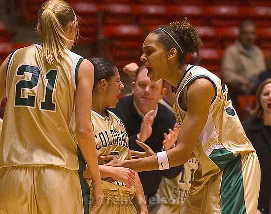 melissa dennett. Salt Lake City - Utah vs. Colorado State women's basketball.<br />