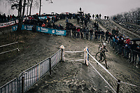 Mathieu van der Poel (NED/Corendon-Circus) <br /> <br /> Elite Men's race<br /> GP Sven Nys / Belgium 2018