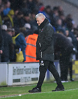Blackpool's manager Terry McPhillips at the end of the game<br /> <br /> Photographer Chris Vaughan/CameraSport<br /> <br /> The EFL Sky Bet League One - Burton Albion v Blackpool - Saturday 16th March 2019 - Pirelli Stadium - Burton upon Trent<br /> <br /> World Copyright &copy; 2019 CameraSport. All rights reserved. 43 Linden Ave. Countesthorpe. Leicester. England. LE8 5PG - Tel: +44 (0) 116 277 4147 - admin@camerasport.com - www.camerasport.com