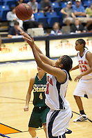 SAN ANTONIO, TX - DECEMBER 31, 2005: The Colorado State University Rams vs. The University of Texas at San Antonio Roadrunners Women's Basketball at the UTSA Convocation Center. (Photo by Jeff Huehn)
