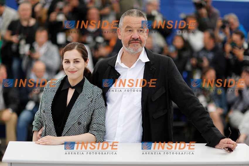 Amira casar ; Arnaud des paillieres .Cannes 24/5/2013 .Festival del Cinema di Cannes .Foto Panoramic / Insidefoto .ITALY ONLY