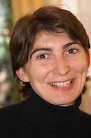 Anne-Laure Borras, daughter to Jacques Gauch Domaine Le Nouveau Monde. Terrasses de Beziers. Languedoc. France. Europe.