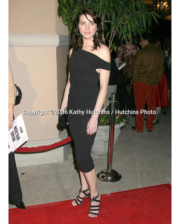 Michelle Hicks.NBC TCA Press Tour Party.Pasadena Ritz Carlton Hotel.Padadena, CA.January 22, 2006.©2006 Kathy Hutchins / Hutchins Photo....