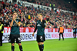 04.11.2018, Opel-Arena, Mainz, GER, 1 FBL, 1. FSV Mainz 05 vs SV Werder Bremen, <br /> <br /> DFL REGULATIONS PROHIBIT ANY USE OF PHOTOGRAPHS AS IMAGE SEQUENCES AND/OR QUASI-VIDEO.<br /> <br /> im Bild: Frust bei Max Kruse (SV Werder Bremen #10) und Johannes Eggestein (SV Werder Bremen #24)<br /> <br /> Foto &copy; nordphoto / Fabisch
