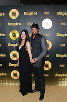 HOLLYWOOD, LOS ANGELES, CA, USA - JANUARY 06: Miranda Howard, Terrence Howard at the Los Angeles Premiere Of FOX's 'Empire' held at ArcLight Cinemas Cinerama Dome on January 6, 2015 in Hollywood, Los Angeles, California, United States. (Photo by David Acosta/Celebrity Monitor)