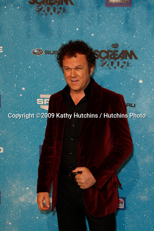 John C. Reilly.arriving at the  Scream Awards 2009.Greek Theater.Los Angeles,  CA.October 17, 2009.©2009 Kathy Hutchins / Hutchins Photo.