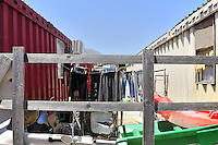 Palermo: the municipality has set up a containers field for families who have been evicted.<br /> Palermo: il campo containers allestito dal comune per rispondere all'emergenza abitativa.