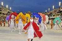 RIO DE JANEIRO, RJ, 17 DE FEVEREIRO DE 2012 - Desfiles das Escolas de Samba Mirins, que abriram oficialmente o carnaval na Sapucaí.: Salgueiro. FOTO GLAICON EMRICH - AGÊNCIA BRAZIL PHOTO PRESS