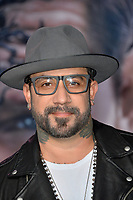 LOS ANGELES, CA. October 01, 2018: A.J. McLean at the world premiere for &quot;Venom&quot; at the Regency Village Theatre.<br /> Picture: Paul Smith/Featureflash