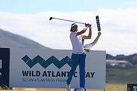 Christofer Blomstrand (SWE) on the 11th tee during Round 2 of the Dubai Duty Free Irish Open at Ballyliffin Golf Club, Donegal on Friday 6th July 2018.<br /> Picture:  Thos Caffrey / Golffile