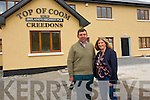 Eileen and Tim Creedon who are looking forward to reopening Ireland's Highest Pub next week following the devastating fire that destroyed their home and business.