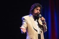 SÃO PAULO, SP, 10.06.2016 - SHOW-SP - O cantor Benito Di Paula durante show no Teatro Bradesco, na noite desta sexta-feira, 10. (Foto: Adriana Spaca/Brazil Photo Press)