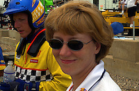 "Mark Weber's wife, Lori..Evansville Freedom Festival ""Thunder on the Ohio"" Evansville,Indiana,USA 1 July,2001.Copyright©F.Peirce Williams 2001..F.Peirce Williams .photography.P.O.Box 455  Eaton,OH 45320 USA.p: 317.358.7326  e: fpwp@mac.com"