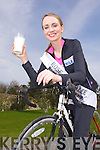 2009 Rose of Tralee Charmaine Kenny on an Advertising Photoshoot for Lee Strand Dairy.