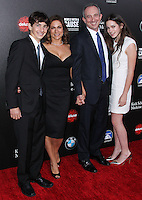 HOLLYWOOD, LOS ANGELES, CA, USA - MARCH 20: Miles Agus, Amy Povich, Dr. David Agus, Sydney Agus at the 2nd Annual Rebels With A Cause Gala Honoring Larry Ellison held at Paramount Studios on March 20, 2014 in Hollywood, Los Angeles, California, United States. (Photo by Xavier Collin/Celebrity Monitor)