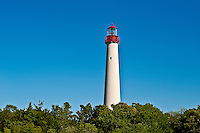 Cape May lighthouse, Cape May,  New  Jersey, NJ, USA