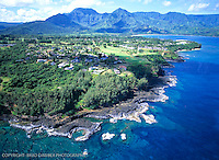 PRINCEVILLE, HANALEI, ANINI , AERIALS, KAUAI, HOMEAWAY, VRBO, VACATION RENTALS