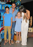 Peter Andre, Junior Andre, Princess Andre &amp; Emily MacDonagh at the &quot;Thomas &amp; Friends: Big World! Big Adventures!&quot; UK film premiere, Vue West End, Leicester Square, London, England, UK, on Saturday 07 July 2018.<br /> CAP/CAN<br /> &copy;CAN/Capital Pictures