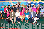 Principal Anne O'Sullivan of Castleisland Community College retires with over 30 years service at a celebration Mass at the school on Monday. Pictured with Parents Association -  Front left to right, Annette O'Connor, Vincent Durkin, Angela Ring O'Donoghue, Ann O'Sullivan, Lorna King, Hugh O'Connell and Mary Burke Back left to right, Mary Dennehy, Rosaire O'Connor, Ann Lynch, Marie O'Leary, Jo Nolan, Samantha O'Connell, Mary O'Connell, Siobhan Clifford, Mary O'Connell, Brenda Healy Brennan