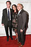 (L-R) Peter W. Kunhardt Jr, Soledad O'Brian and Irvin Mayfield pose on red carpet at the Gordon Parks Foundation 2014 Award Dinner and Auction on June 3, 2014 at Cipriani Wall Street, located on 55 Wall Street.
